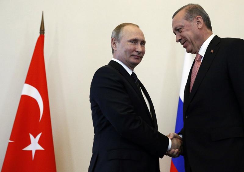 Putin-Erdoğan zirvesinden kareler