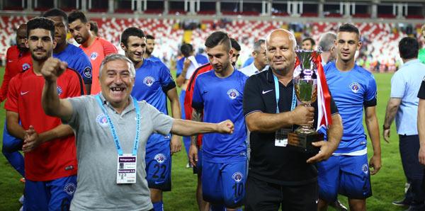 18. Cumhuriyet Kupası Kasımpaşa'nın oldu!