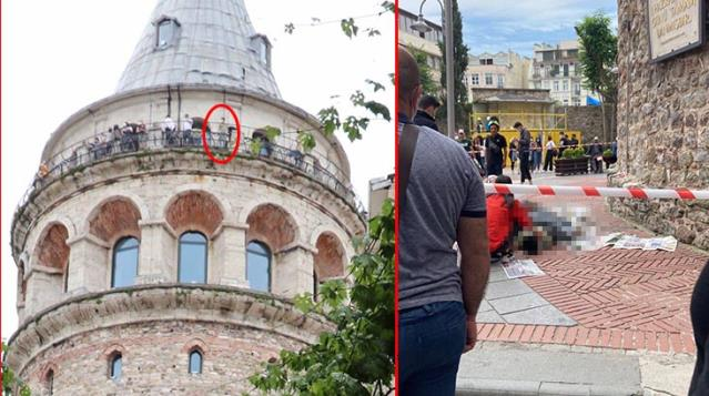18 yaşındaki genç Galata Kulesi'nden atlayarak intihar etti