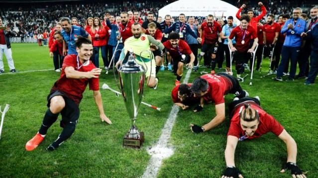 2022'deki Ampute Futbol Dünya Şampiyonası Türkiye'de yapılacak