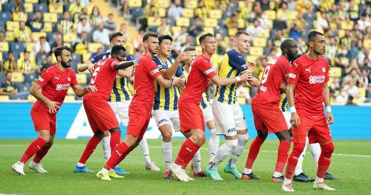 914 gündür Sivasspor-Fenerbahçe'ye yenilmiyor