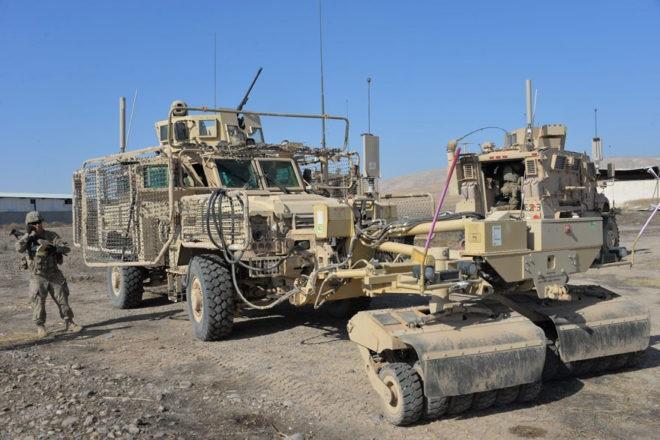 ABD askerleri Musul'a girdi!