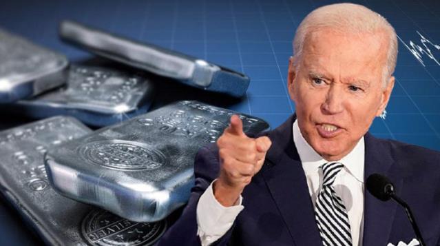 ABD Başkanı Biden'ın Yaptığı Plan İle Gümüşün Değeri 4 Kat Artabilir