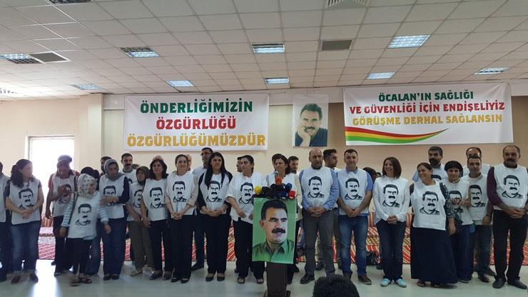 Abdullah Öcalan için açlık grevine başlandı!