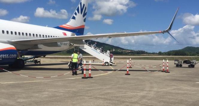 Almanya'dan gelen gurbetçiler Zonguldak Havalimanına iniş yaptı