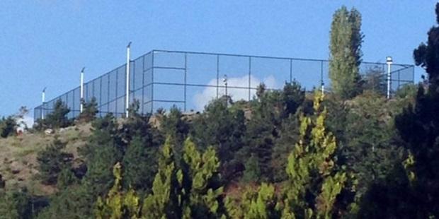 Anıtkabir'e 'Halı saha' yapıldı iddiası