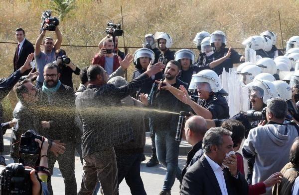Ankara Katliamı anmasına polis müdahalesi!