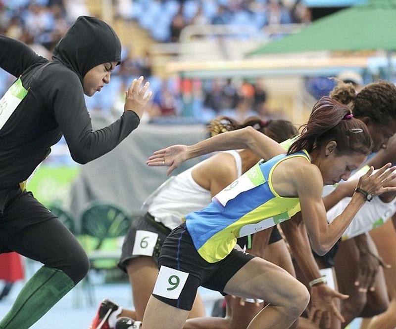 Arabistanlı atlet Rio'da tarihe geçti