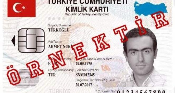 Yeni kimlik kartı hakkında düzenleme!