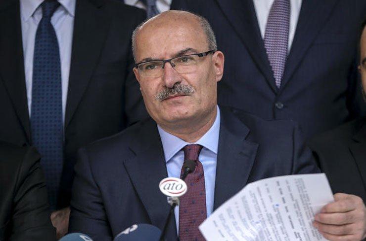 ATO başkanlığını kaybeden Osman Gökçek'ten ilk açıklama