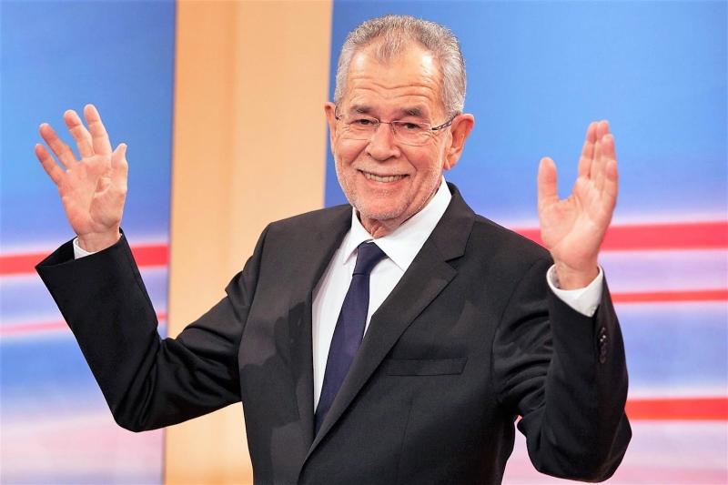 Avusturya'nın yeni cumhurbaşkanı Alexander Van Der Bellen