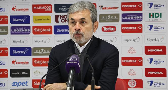 Aykut Kocaman: 'Tek tesellimiz gol yemeden maçı bitirmek oldu'