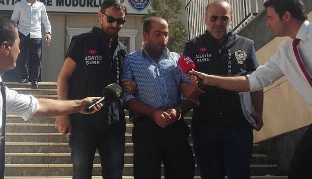 Ayşegül Terzi'ye tekme atan Abdullah Çakıroğlu, gözaltına alındı