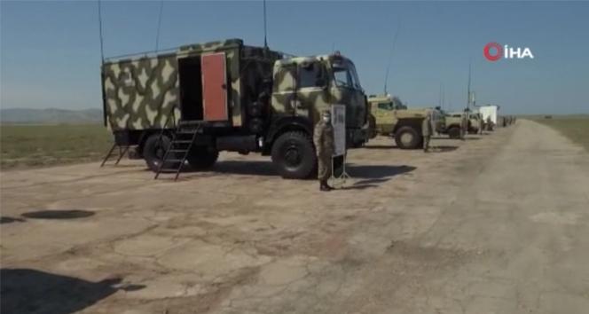 Azerbaycan ve Türkiye muhabere birliklerinden ortak tatbikatı başladı