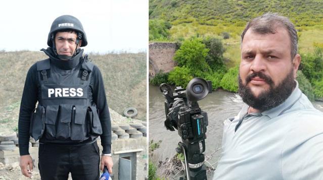 Azeri gazeteciler, ölümlerini böyle kaydetti! Feci olayın görüntüleri ortaya çıktı