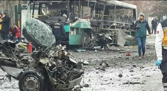 #Kayseri'de terör saldırısında kullanılan otomobilin plakası sahte!