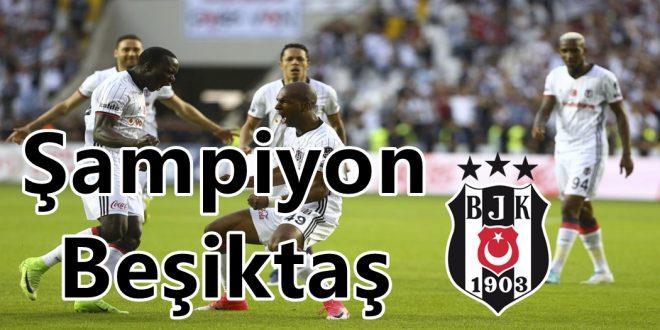 Beşiktaş 3. yıldızı taktı..?
