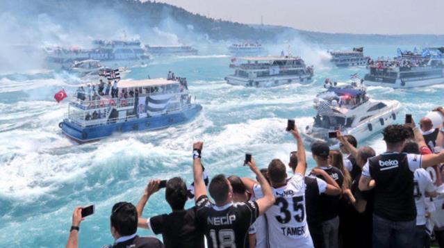 Beşiktaş'ın Şampiyonluk Kutlamalarına İzin Çıkmadı