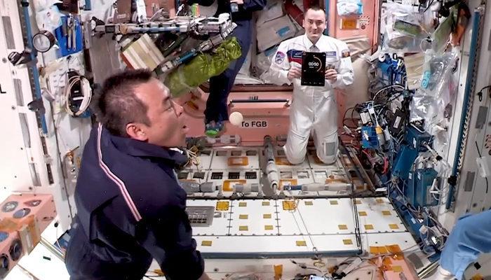 Bir ilk! Uluslararası Uzay İstasyonu'nda
