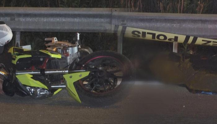 Bursa'da feci kaza! Metrelerce sürüklenen motosiklet sürücüsü hayatını kaybetti