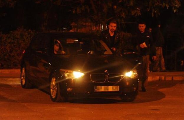 Caner Erkin yeni kız arkadaşıyla Antalya'da görüntülendi