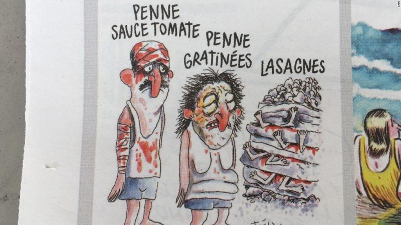 Charlie Hebdo'dan 'ilginç' karikatür