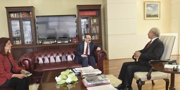 CHP lideri Kılıçdaroğlu, YÖK Başkanı Saraç ile görüştü