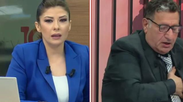CHP'li Eski Milletvekili Canlı Yayında Rahatsızlandı