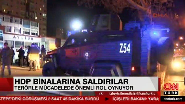 CNN Türk'ten HDP saldırılarına yönelik özür açıklaması