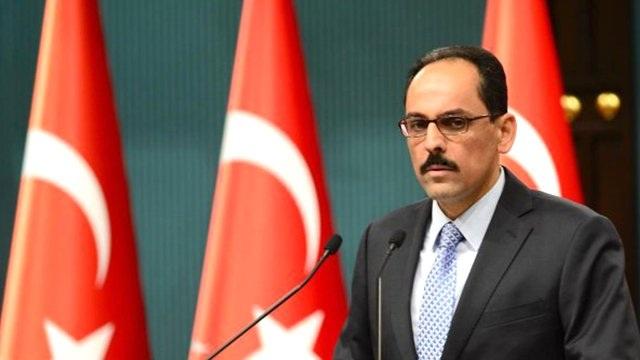 İbrahim Kalın: 'Türkiye, PKK'nın yönettiği bir devletçiğe izin vermeyecek'