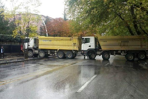 Cumhuriyet Bayramı'na kamyonlu kutlama!