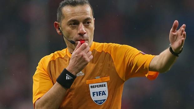 Cüneyt Çakır'a EURO 2016'da görev