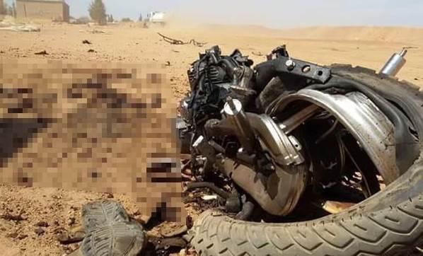 Çobanbey'de bomba düzeneği patlatmak isteyen IŞİD'li öldürüldü