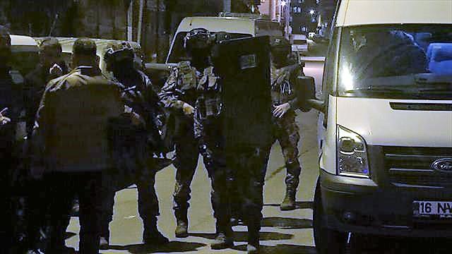 DAEŞ'e yönelik operasyonda 748 kişi gözaltına alındı