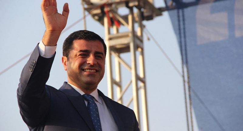 HDP'li Demirtaş'a soruşturma!