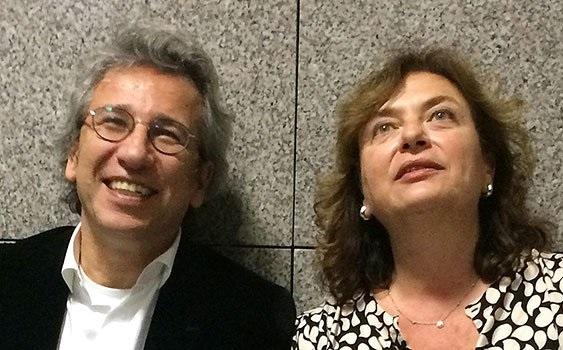 Can Dündar'ın eşi Dilek Dündar'ın pasaportuna el koyuldu