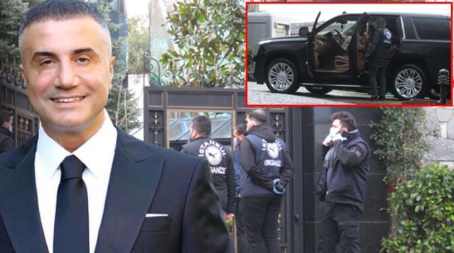 Emniyet Güçleri Yaptıkları Operasyonda Sedat Peker'in Evi ve Lüks Arabasında Arama Yaptı
