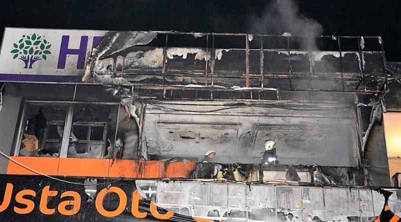 Emniyet HDP'ye yönelik düzenlenen saldırılara karşı uyardı