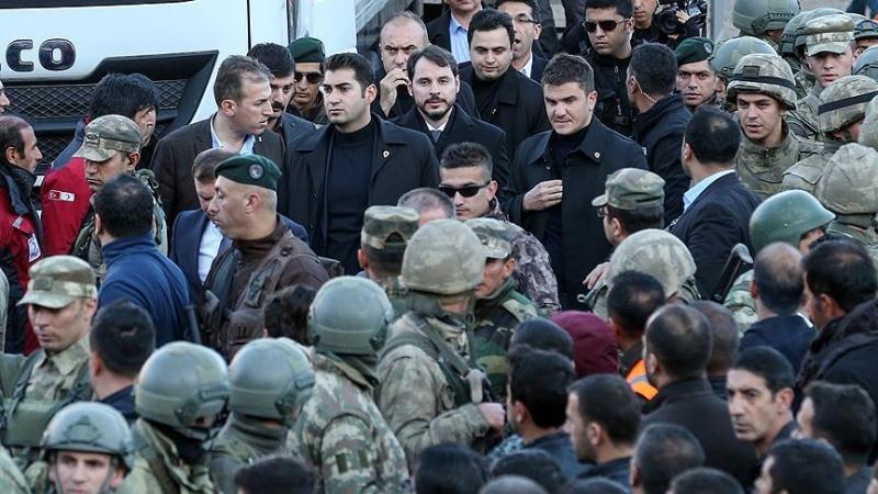 Enerji Bakanı Berat Albayrak Siirt'te