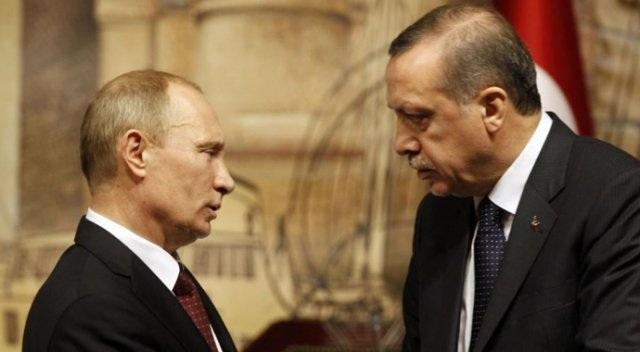 Erdoğan Putin ile telefonda görüştü