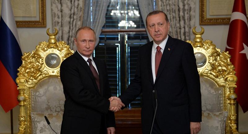 Erdoğan ve Putinden Ortak Karar  İdlip'de Çatışmasızlık Bölgesi Oluşturulacak