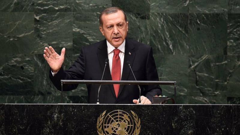 Erdoğan:Dünyayı 5 ülkenin ağzına mahkum edemezsiniz