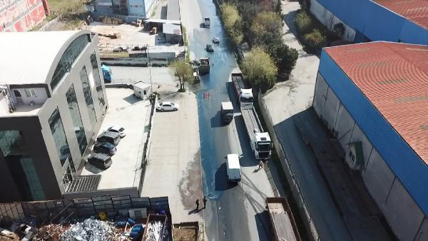 Esenyurt'u Mavi Su Bastı, Vatandaşlar Tedirgin