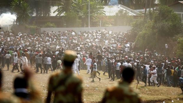 Etiyopya'da göstericilere saldırı: En az 300 ölü!