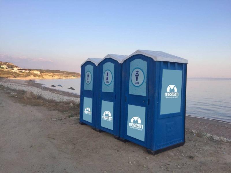 Etkinlik alanlarında mobil tuvaletlere ihtiyaç vardır