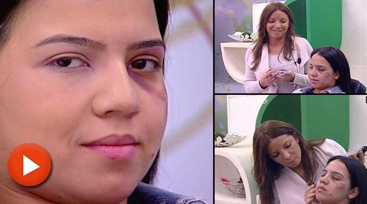 Fas'ta kadına şiddeti 'makyajla kapatma' dersi