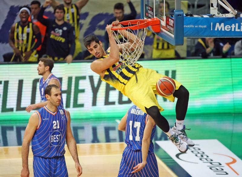 Fenerbahçe Balıkesir Best'i ezdi geçti. 91-57