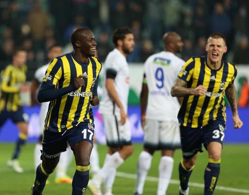 Fenerbahçe Rize'de dolu dizgin Ç.Rize 1-5 Fenerbahçe