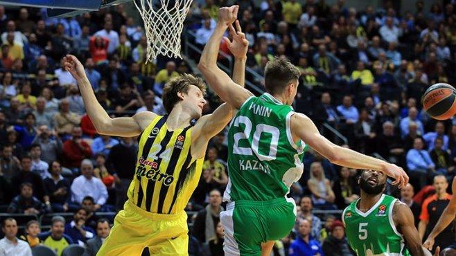 Fenerbahçe'nin serisi bozuldu Fenerbahçe 73 - 81 Unics Kazan