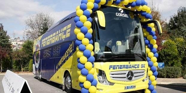 Fenerbahçe'ye özel zırhlı otobüs!